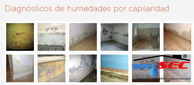 FOTO DE DIAGNOSTICO DE HUMEDADES POR CAPILARIDAD