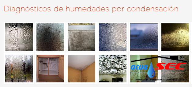 FOTO DE DIAGNÓSTICO DE HUMEDADES POR CONDENSACIÓN